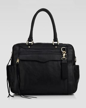 I'M SAYIN'....     Rebecca Minkoff Knocked Up Leather Diaper Bag - i knew you would be mine, thanks love.