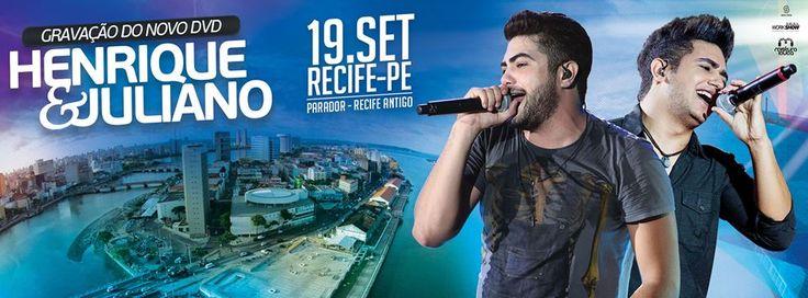 Central Gasparzinho - Forró e Sertanejo: Henrique e Juliano gravará DVD no dia 19 de setemb...