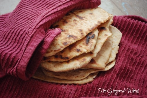 The Gingered Whisk: Sourdough Naan