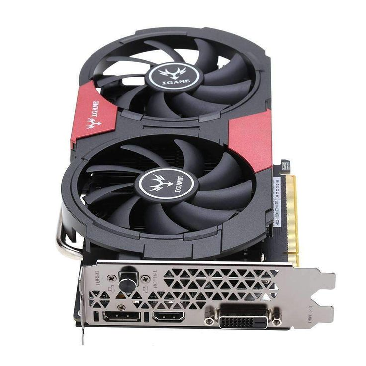 Nvidia Colorful gtx 1050Ti Graphics Card GDDR5 4GB:BiBset.com