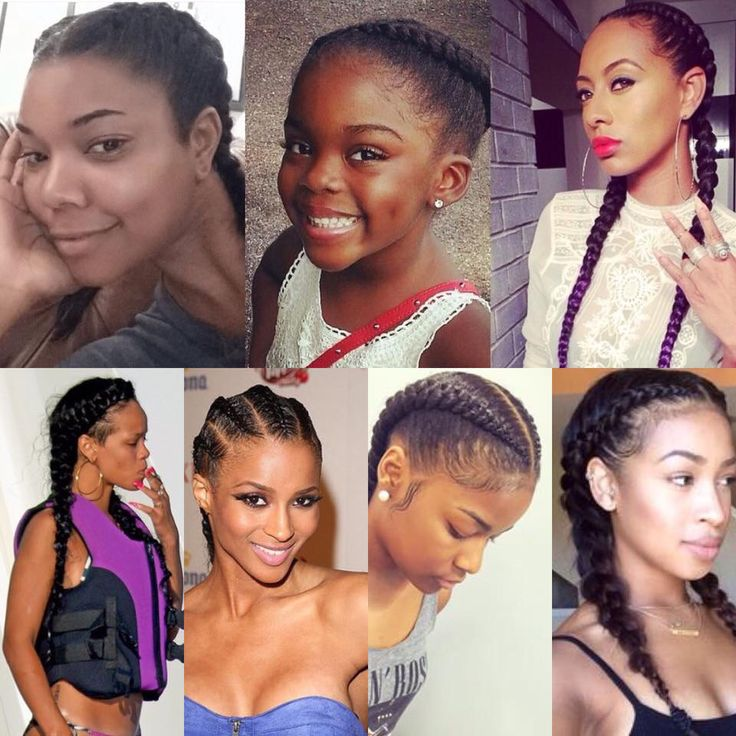 """Beautiful cornrows. There is no """"new boxer braid t…"""
