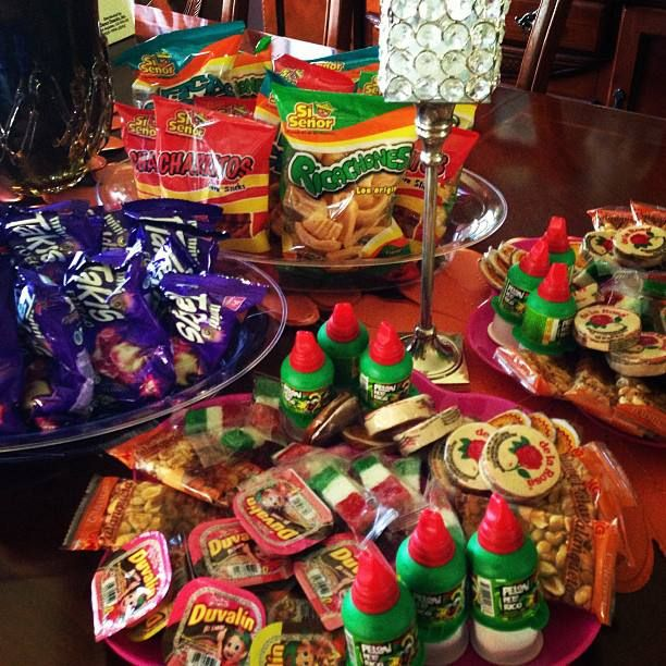Mexican/ Fiesta Candy Bar