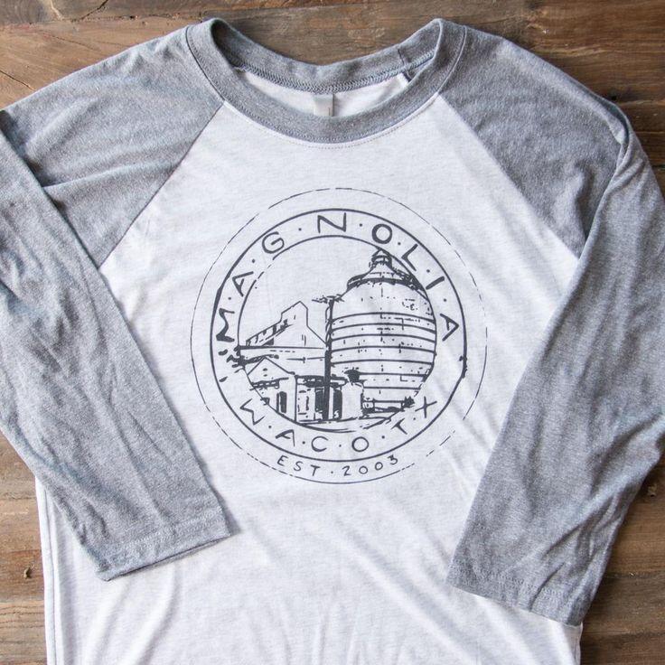 Magnolia Silos Baseball Shirt - you can never have too many....