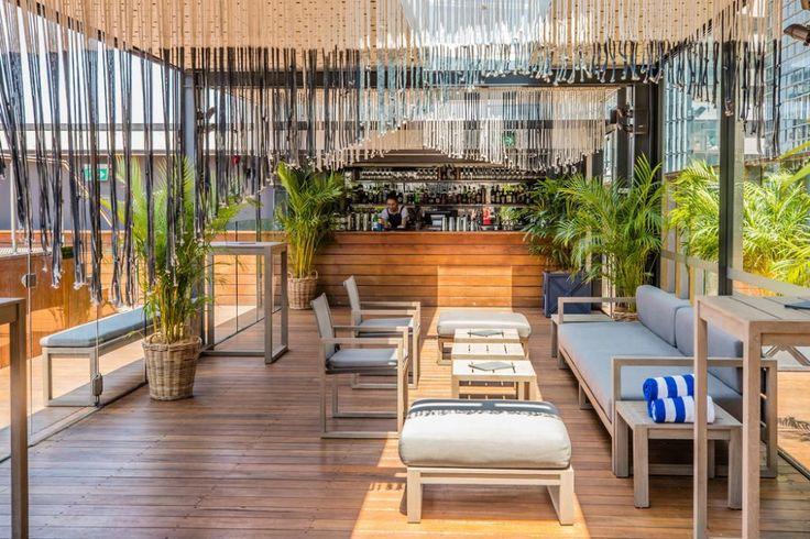 The Old Clare Hotel in Sydney Pool bar design, Sydney