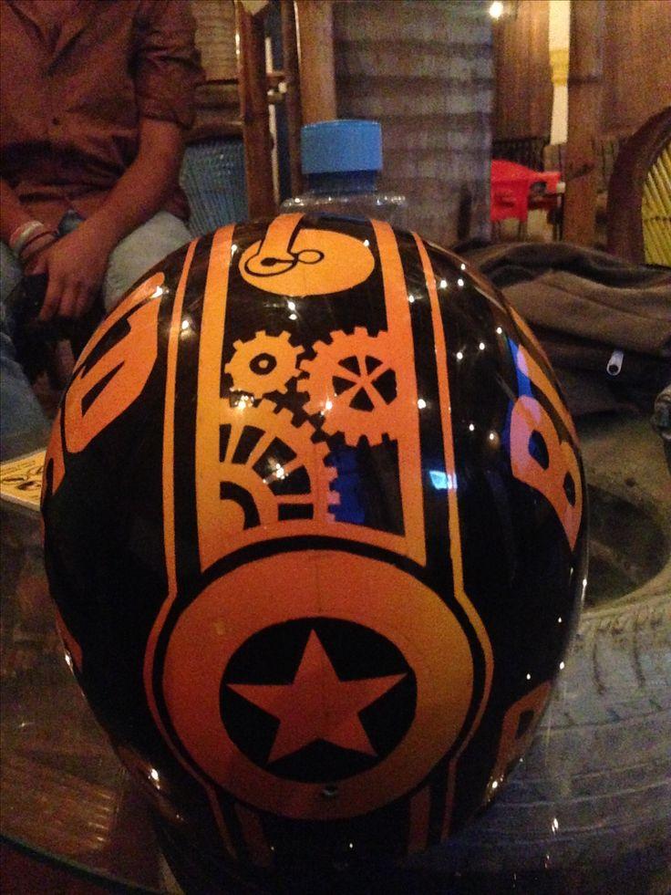 For sale!! Brand new custom helmet. Follow us on instagram @rbcustoms_ #helmets #custom #customhelmet #yellow #bike #enfield #royalenfield #harleydavidson #bikers #classic #riders #paint #rbcustoms_ #helmet #limitededition #india #udaipur #rajasthan