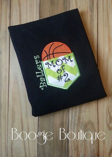 Basketball Mom Chevron Pocket Tee by BoogieBoutique on Etsy, $27.00