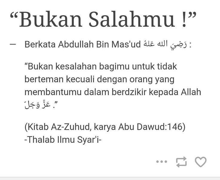 INILAH TEMAN SEJATI  al-Allamah Zaid al-Madkhali hafizhahullah Teman sejati adalah teman yang membantu saudaranya sesuai kadar kemampuannya walaupun dengan satu kata yang baik dan bagus. Membantunya dalam bentuk nasehat terhadap dirinya apabila lupa maka sang teman mengingatkannya sebagai bentuk upaya menegakkan hak pertemanan. Terutama yang berkaitan dengan perkara-perkara agama maka teman harus mengingatkannya dan memberikan nasehat terhadapnya serta menunjukkannya kepada yang maruf. Itu…