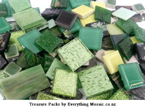 A Fabulous collection of glass tiles to enhance your next mosaic project.