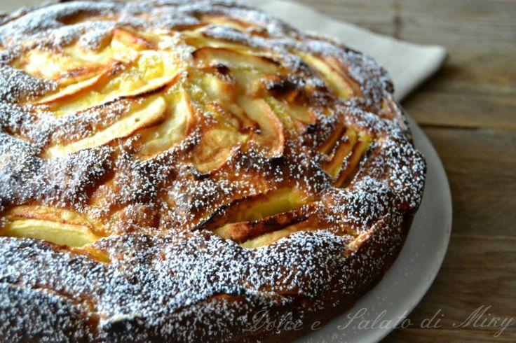 Ricetta Torta di mele e ricotta | Dolce e Salato di Miky