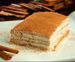 Tarta de queso y galletas de canela (Receta facilitada por Mª José Tejedor Mora)