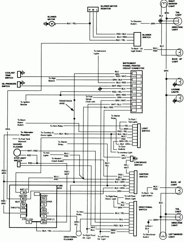 10 77 ford truck wiring diagram  truck diagram  wiringg