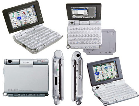Sony CLIÉ PEG-UX50    Manufacturer - Sony  Series - Clié  Years of production - 2003  CPU -Sony CXD2230GA  Rom - 64 Mb  Ram - 40 Mb  Screen - 420x320 |65,536 colors  Weighs -6.2 oz  Operating System -Palm OS software version v.5.2