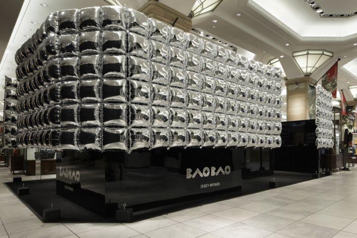 Issey Miyake Bao Bao Platinum Pop-up Store by Moment Design, Tokyo – Japan » Retail Design Blog