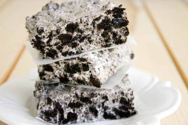chewy no bake cookies and cream barsNo Bake Cookies, Baking Cookies ...