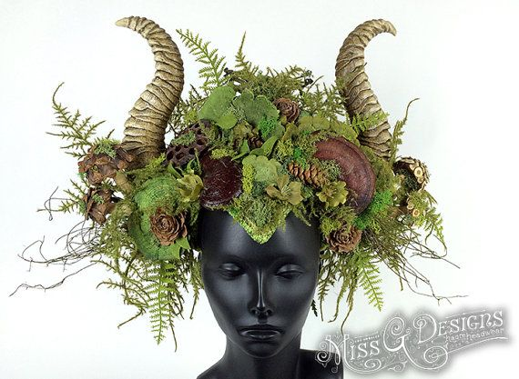 Hey, I found this really awesome Etsy listing at https://www.etsy.com/listing/225901905/mother-nature-headdress