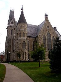 Cornell College is located in Mount Vernon, IA.  This college was founded in 1853 and many of the buildings originate from this time, creating a very historic atmosphere on the campus.