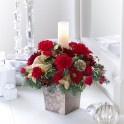 Scented candle arrangement for christmas. buy online for delivery.