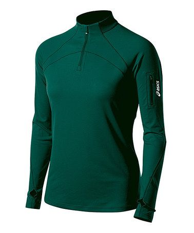 Loving this Forest Team Tech Half-Zip Pullover on #zulily! #zulilyfinds