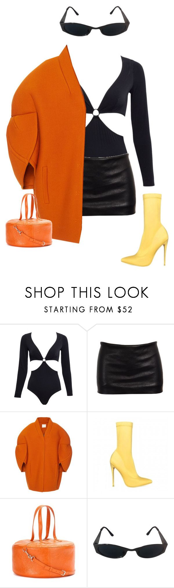 """""""Untitled #219"""" by luvtayy4ever ❤ liked on Polyvore featuring Morgan Lane, Ann Demeulemeester, Delpozo, Balenciaga, Versace and vintage"""