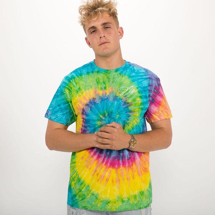 KIDS Jake Paul Saturn Tie-Dye Shirt