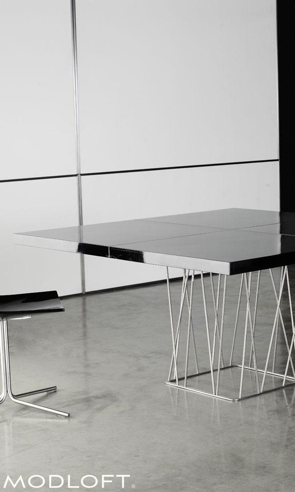 31 best modloft dining bar images on pinterest dining room dining rooms and architecture. Black Bedroom Furniture Sets. Home Design Ideas