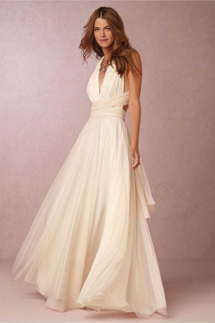 130 best Non-Strapless Wedding Dresses images on Pinterest | Short ...