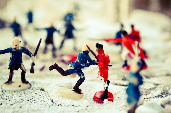 revolutionary war diorama 4th grade project battle of trenton george washington americans british red coats hessians trenton, new jersey