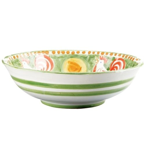 Vietri Campagna Gallina Large Serving Bowl