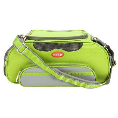 "Teafco Argo Aero-Pet Airline Approved Pet Carrier Color: Green, Size: Large (9.25"" H x 10"" W x 20"" L)"
