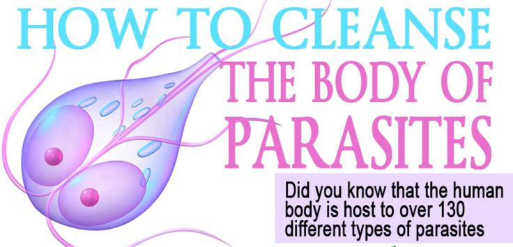 how to get rid of body of stubborn parasites naturally