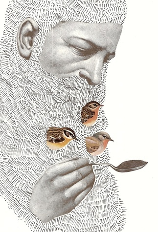birds in the beard - greedy hen