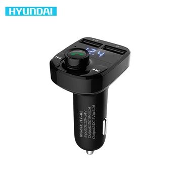 HYUNDAI Carro MP3 Player de Áudio Do Carro Do Bluetooth Kit Mãos Livres Transmissor FM Sem Fio Modulador de FM