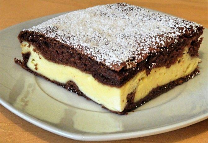 Krehký čokoládovo tvarohový koláčik. Zmizol zo stola za pár sekúnd