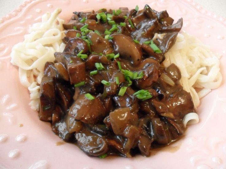Portabella (Portobello) Stroganoff | Foods I want to try | Pinterest