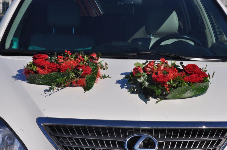 Aprelle V+L car wedding
