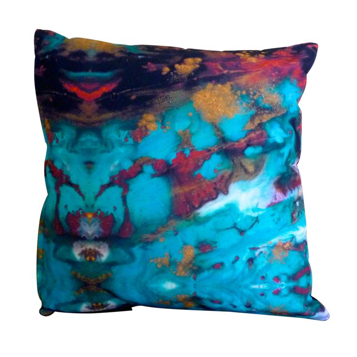 Imagine 2: Art Cushion |Throw Pillow, unique, original design, love what You live with! | $49.95 https://www.etsy.com/au/shop/MagentaBlues