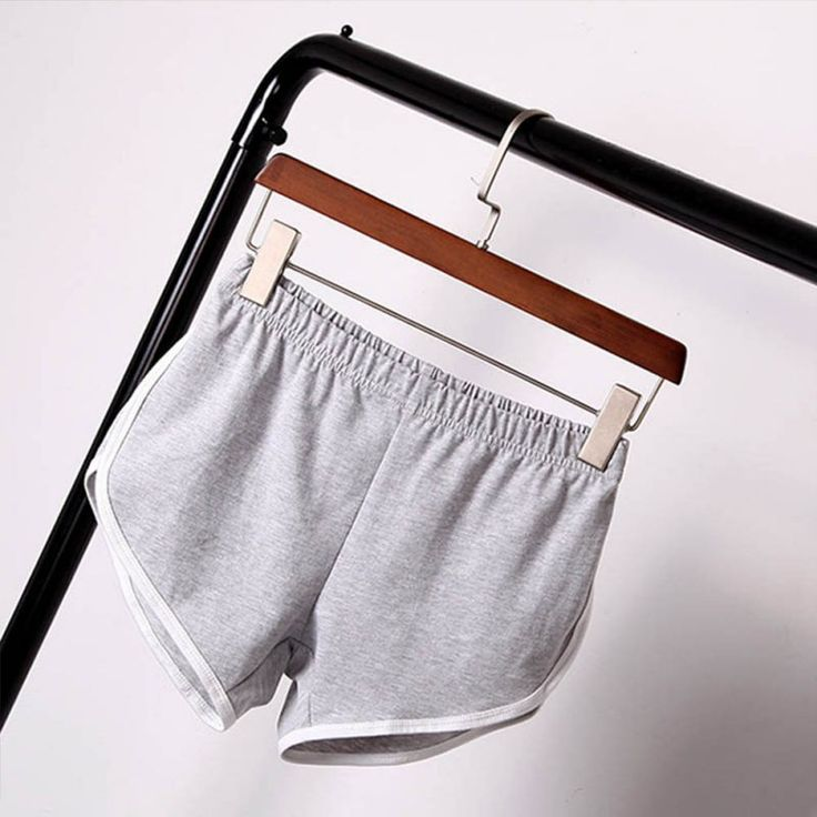 2017 Summer Street Fashion Shorts Women Elastic Waist Short Pants Women All-match Loose Solid Soft Cotton Casual Short Femme #Affiliate