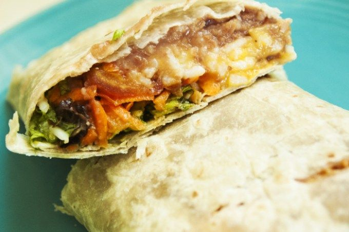 Burrito Vegano por Cocina Vegano 1