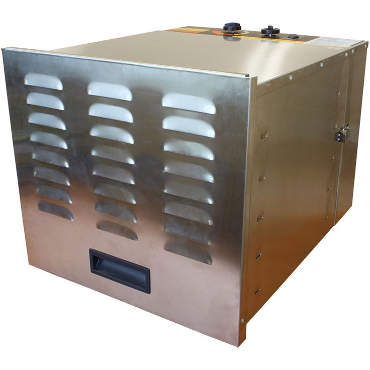 New Stainless Steel 10 Tray Fruit Jerky Sausage Food Commercial Dehydrator Dryer #COOKSCLUB