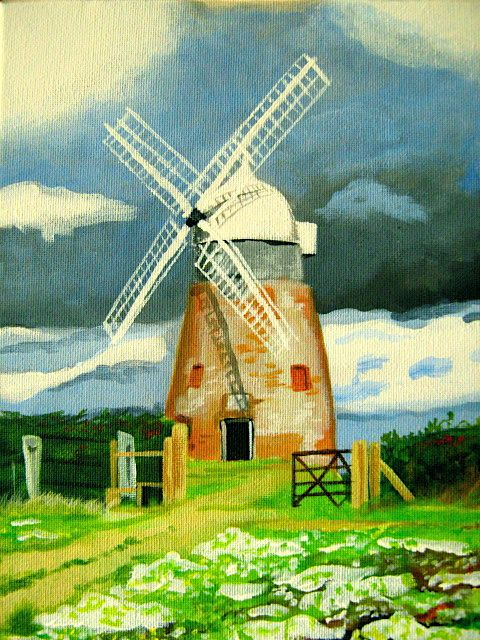 windmill watercolor paintings for beginners - Bing Images ...