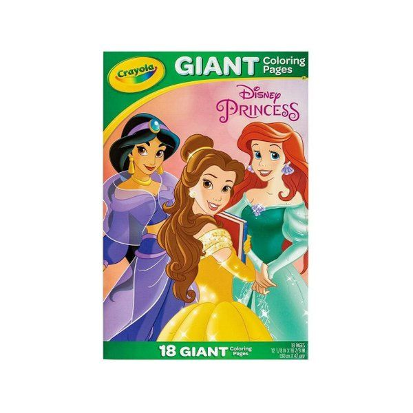 Crayola Giant Colouring Pages Disney Princess Colouring Pages The Little Mermaid Disney Princess
