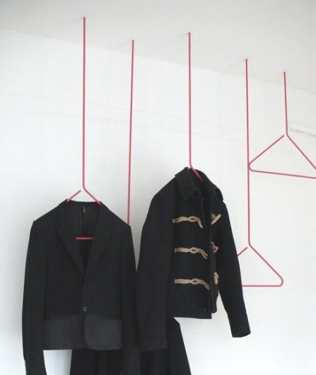 Swang, by German designer Sebastian Herkner is a new twist on the traditional coathanger.