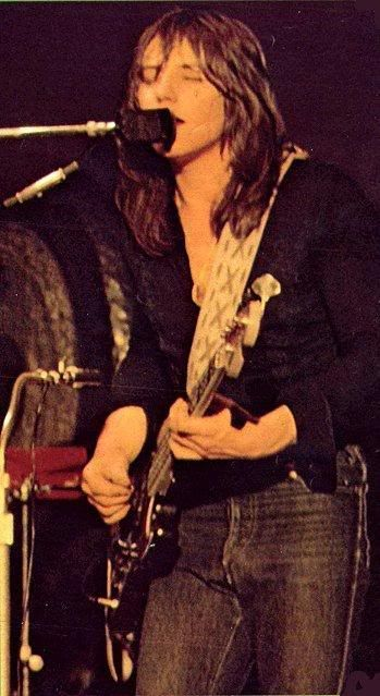 Greg Lake, the first bass player I listened to Emerson, Lake & Palmer 1970.