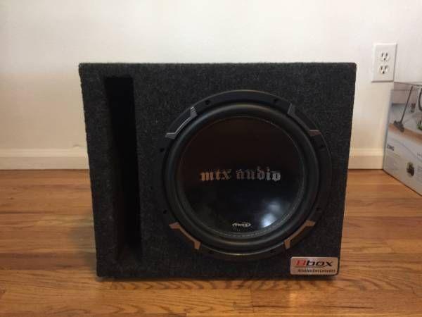 """MTX Audio TR55 12"""" Subwoofer w/ Box (Boulder) $175"""