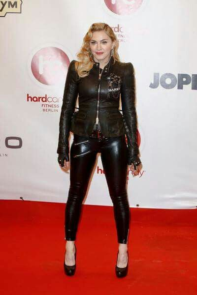 Madonna in Leather