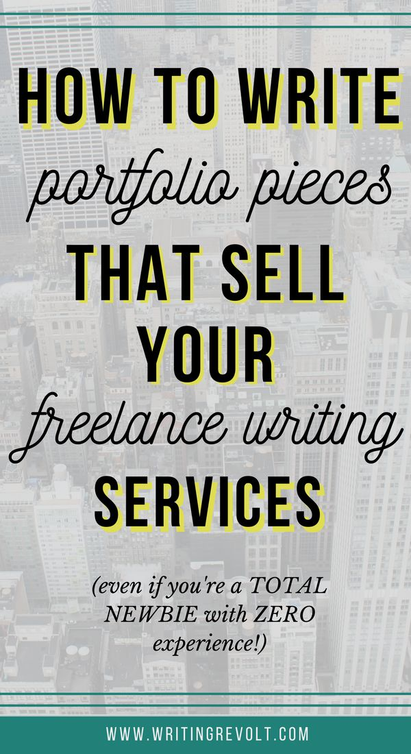 NEed to create your first freelance writing portfolio and writing samples? Do it in a way that WINS you clients – even if you're a total newbie! This post explains exactly how it's done. Check it out! :)