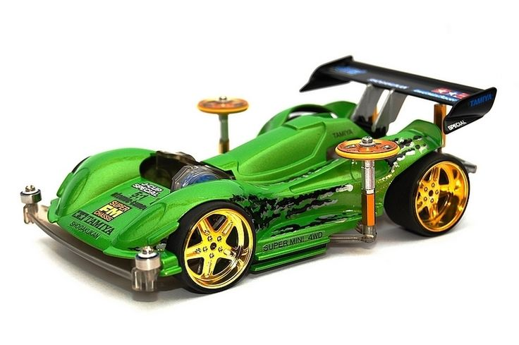 Mini 4wd Tuning e custom - Foto 1