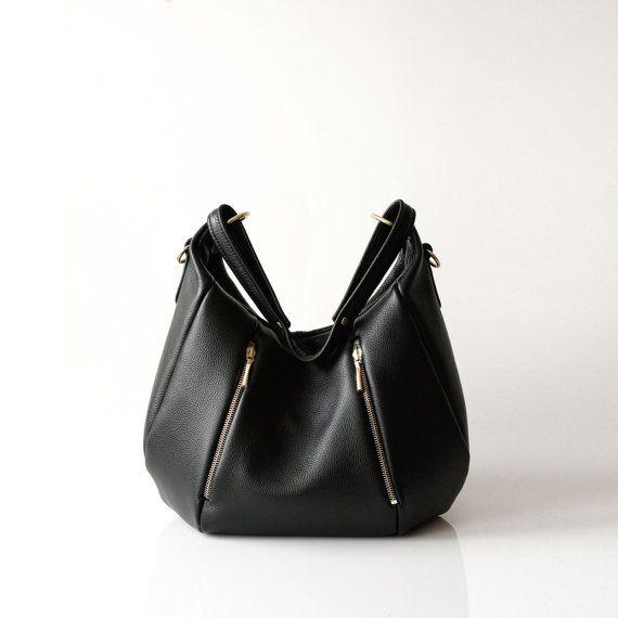 Soft Leather Handbag OPELLE Ballet Bag by opellecreative on Etsy