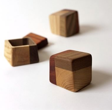 Wooden boxes