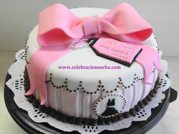 Cake Art Rabia : Torta Fashion. www.celebracionescba.com.ar Tortas a ...